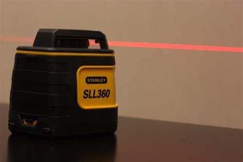 test niveau laser stanley sll360