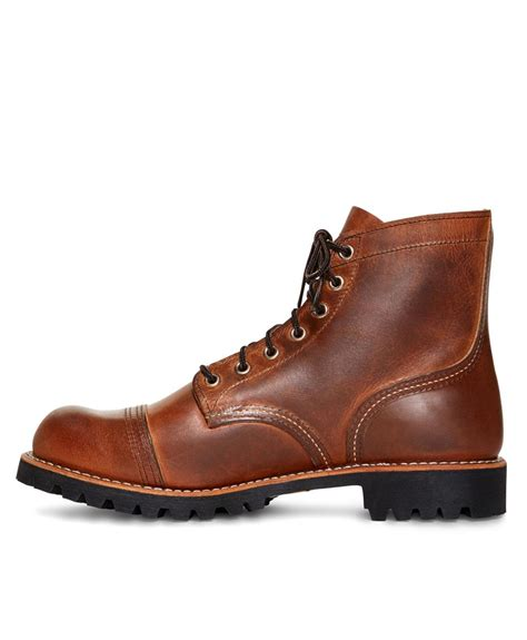 iron ranger boots lyst brothers wing for 4556 iron ranger boots