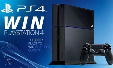 Giveaway Ps4 - giveaway sony s next gen playstation ps4 console