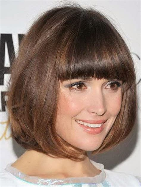 Hairstyles With Bangs 2014 by Bob Haircut With Bangs Bob Hairstyles With Layers