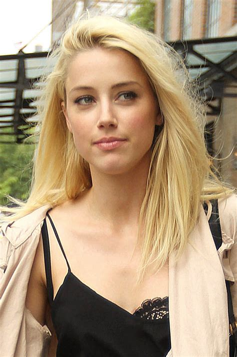 heard of amber heard out and about in new york hawtcelebs