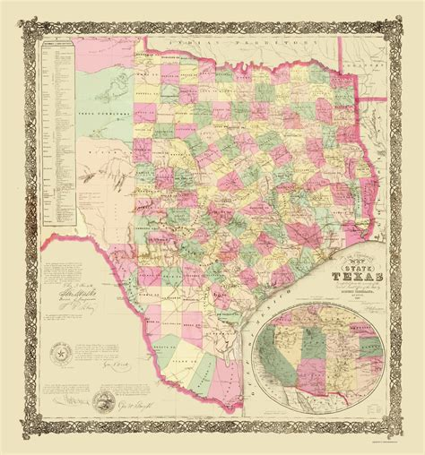 texas general land office maps state maps texas tx by general land office 1867