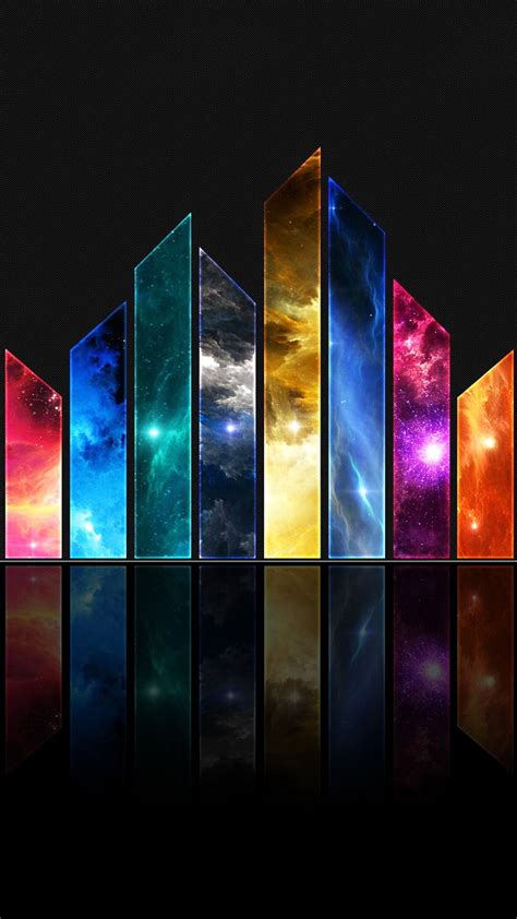 colorful wallpapers for android hd wallpaper android abstrak colorful pecahan kaca
