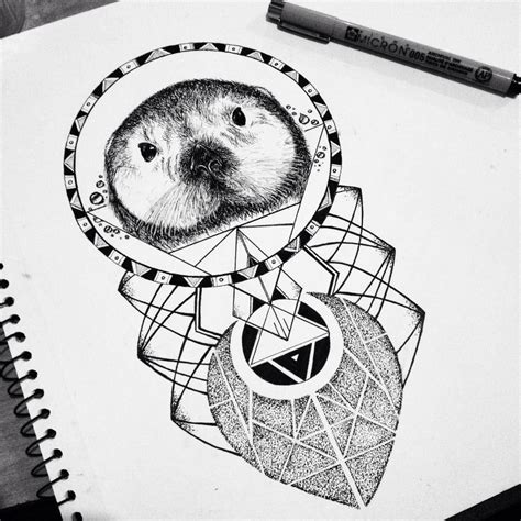 sea otter tattoo sea otter design www pixshark images