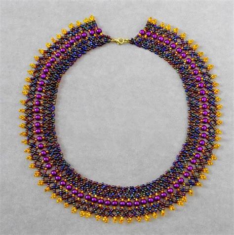 bead projects colliers on beaded necklaces beading patterns