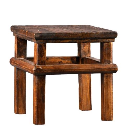 Handmade Wooden Step Stool by Vintage Accent Wooden Step Stool Handmade Quality Solid