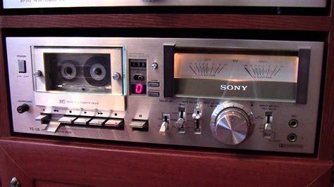 cassette deck sony tc u5 stereo cassette deck