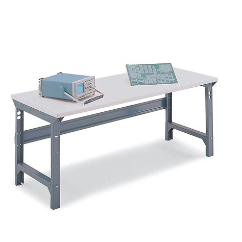 esd benches edsal adjustable height esd workbench 72x30 static