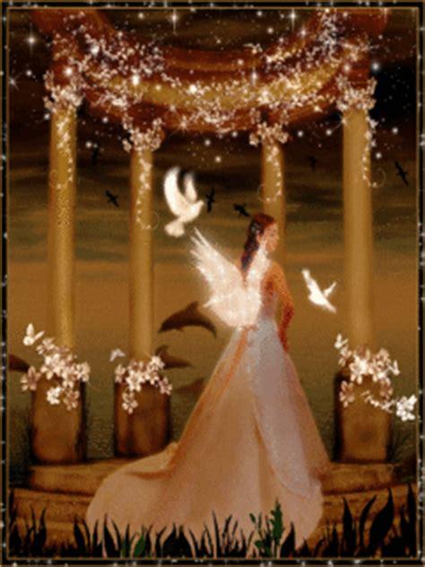 imagenes hadas blancas imagen de amor de un 225 ngel llena de paloma blancas