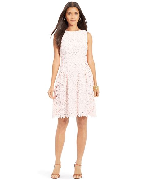 Lawren Dress by ralph floral lace sleeveless dress in