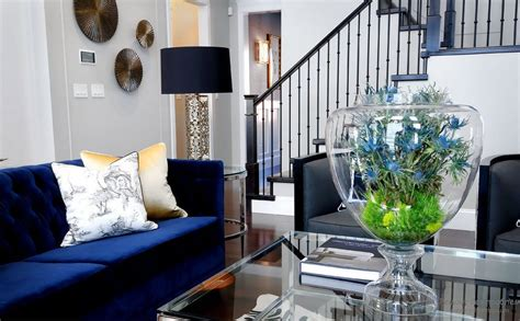 Blue Living Room Ideas Decorating A Living Room With Navy Blue Furniture Home Photos By Design
