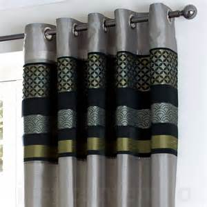 Grey Black And White Curtains Black And Eyelet Curtains Imperial Chocolate Brown Eyelet Luxury Curtain Curtains Uk