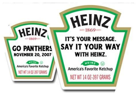 heinz label template this way up packaging to grow mediation