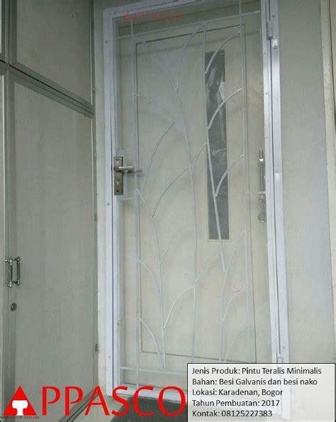 Kanopi Pagar Pintu pintu besi teralis minimalis bogor jual kanopi tralis