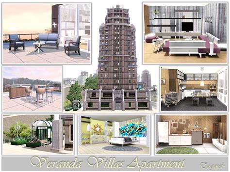 Veranda Villas Sims 3 by Tugmel S Veranda Villas Apertment Furnished