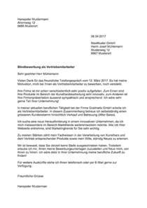 Schweiz Brief Beispiel Blindbewerbung Vorlage Muster Und Vorlagen Kostenlos