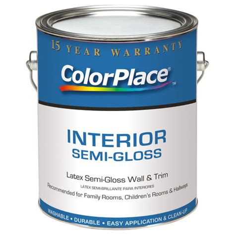 colorplace interior semi gloss antique paint 1 gal walmart