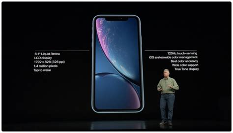 Iphone Xr Length by Apple Unveils Iphone Xr With 6 1 Inch Lcd Liquid Retina Display