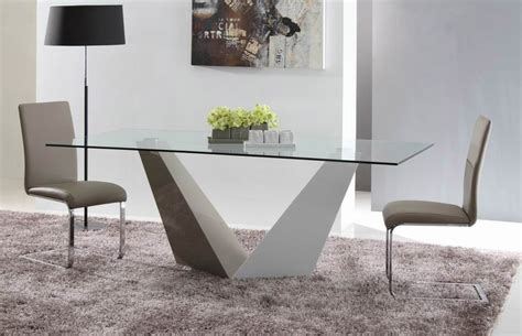 contemporary glass dining room tables vertex contemporary glass dining table modern furniture