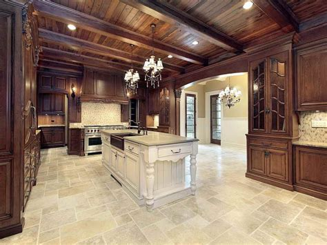 nonslip tile types  kitchen floor tile