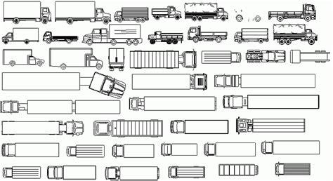 libreria dwg librer 237 as de bloques autocad transportes terrestres