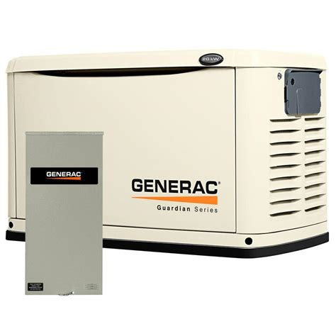 home generator generac generators 20 000 watt air cooled