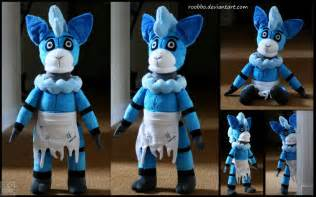 Five nights at freddy s oc plush bo blue alpaca by roobbo on