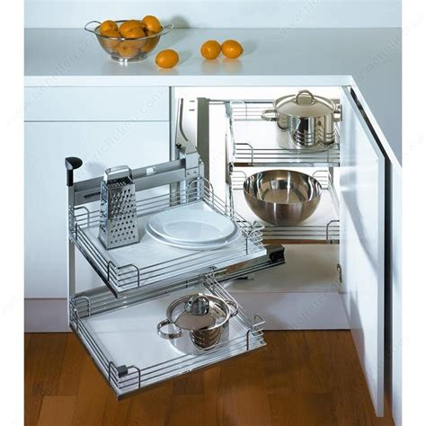 magic corner kitchen cabinet frame for magic corner ii system richelieu hardware