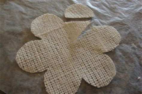 burlap flower template burlap tutorial