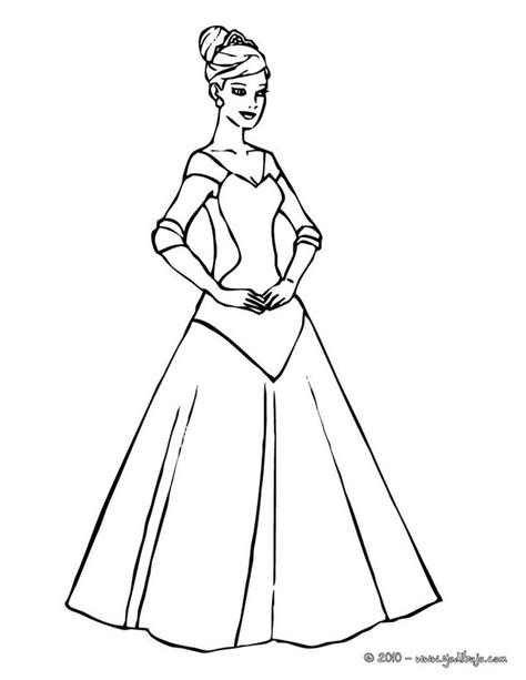 princess gown coloring pages vestidos olmecas antiguos dibujos para colorear mejor