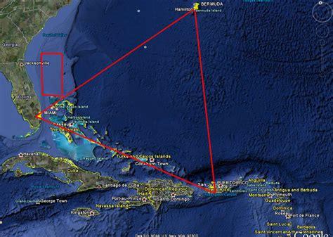 bermuda triangle map mystery bermuda triangle map of