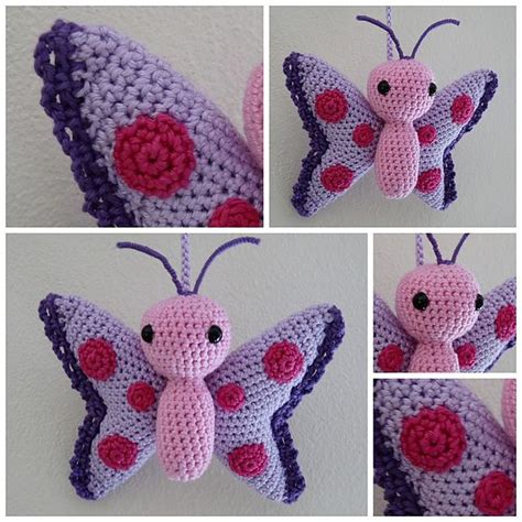 butterfly pattern in crochet 58 best crochet butterflies dragonflies ladybugs images on