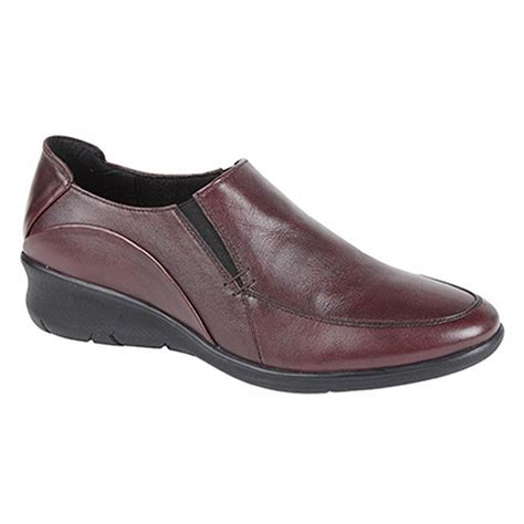 mod comfys womens softie leather gusset casual