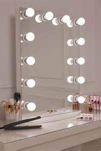 White Vanity Mirror With Lights Best 25 Mirror Ideas On