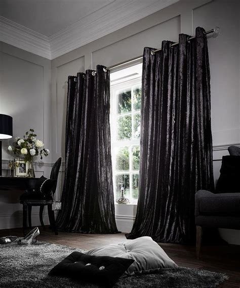 faux fur curtains luxury shiny faux fur eyelet pair of curtains 100
