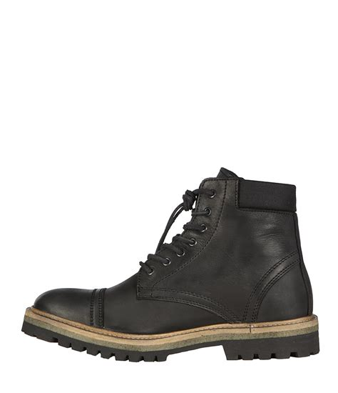 allsaints detect boot in black for lyst
