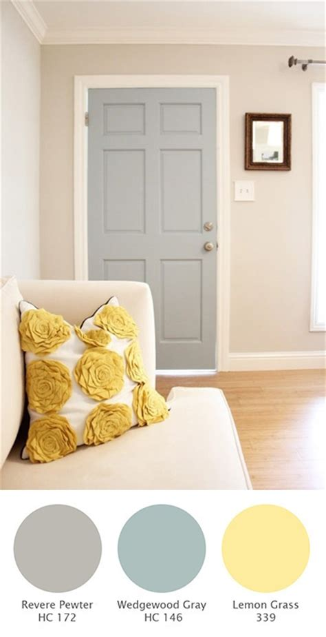 paint my walls adding color to interior doors revere pewter is what i am