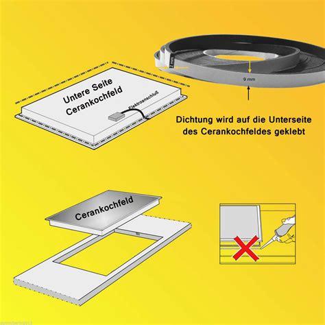 junta encimera vitroceramica cinta junta para encimera 2 5 goma espuma de m junta ceran