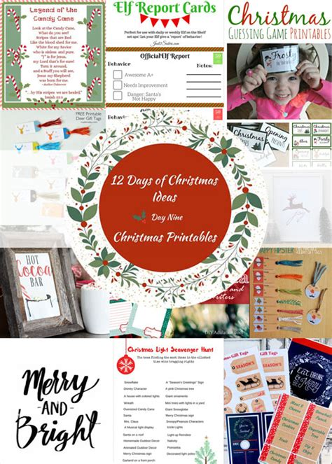 home decorators 12 days of deals 12 days of christmas ideas free christmas printables