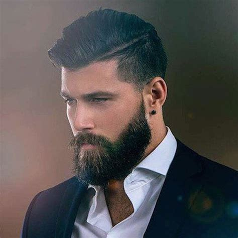 best hair styles to compliment a beard 33 best beard styles for men 2018 beard styles haircuts