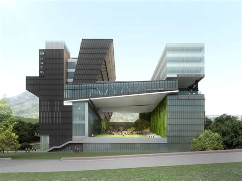 architects design rocco designs new cus for chu hai college of higher
