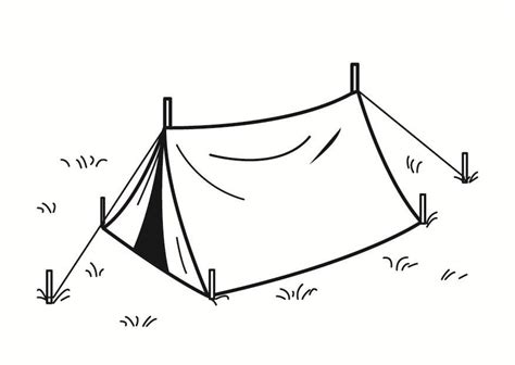 nothing in particular a coloring journal books coloring page tent img 23355