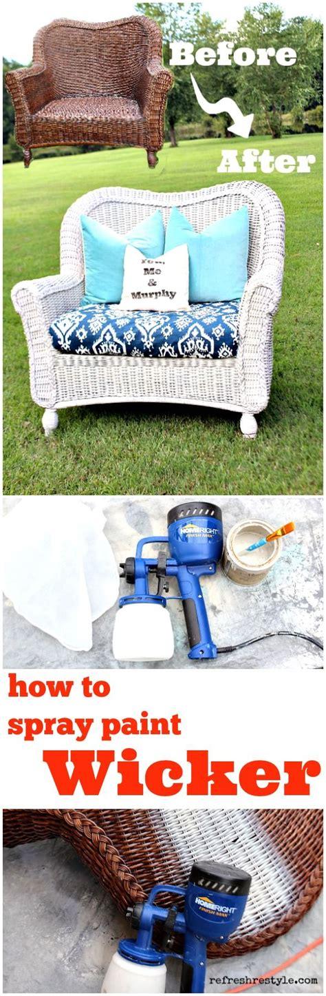 spray painting wicker how to spray paint wicker how to spray paint furniture
