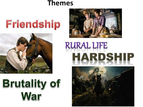 Themes In The Book War Horse | quot war horse quot film