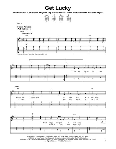 tutorial piano get lucky guitar get lucky guitar tabs get lucky guitar at get