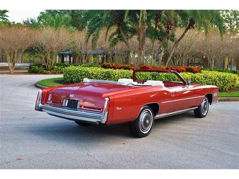 cadillac fl cadillac eldorado 2 door in florida for sale 75 used cars