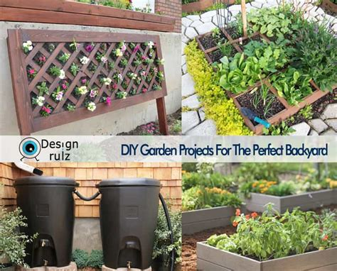 diy backyard garden diy garden projects for the perfect backyard