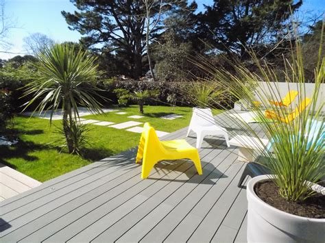 Terrasse Jardin by Awesome Deco Design Jardin Terrasse Contemporary