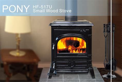 hiflame pony hf517u epa small wood stove for home heating enamel black ebay