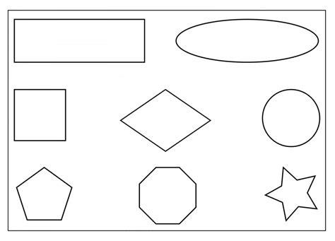 Shapes Worksheets Printable Free